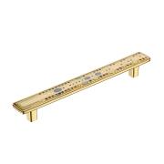 KA3-160JW42P-OT Ручка-скоба,160 мм, полимер, золото, JEWEL