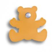 3017.0050.021.182 Ручка кнопка детская, мишка оранжевый