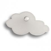 3018.0066.021.183 Ручка кнопка детская, облако белое