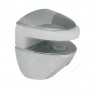 302335 COBRA SL5/6 COBRA Полкодержатель для стеклянных полок толщиной 5-6 мм, под саморез, хром