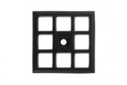 SY3030 0052 AL6 Ответная часть для ручки 3150, отделка  черный матовый
