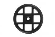 SY3031 0052 AL6 Ответная часть для ручки 3150, отделка черный матовый