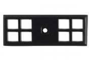 SY3032 0090 AL6 Ответная часть для ручки 3150, отделка черный матовый