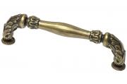 HN-M-3805-128-E Ручка-скоба 128мм, отделка бронза английская