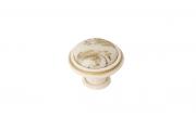P77.Y01.G7.MT5G Ручка-кнопка, отделка золото винтаж + керамика P88.Y01.G7.MT5G