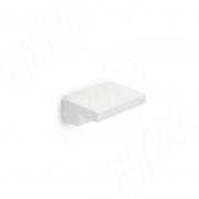 313D.71 Ручка-кнопка 16мм белый матовый
