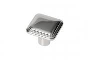SY3310 0008 PN Ручка-кнопка, отделка никель глянец