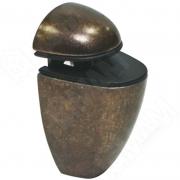 SU35ABR ПЕЛИКАН Менсолодержатель для деревянных и стеклянных полок 4 - 20 мм, бронза патинированная