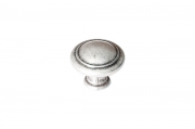 Ручка-кнопка, отделка старое серебро с блеском WPO.2025Y.30.M00E8