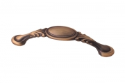 Ручка-скоба 96мм, отделка кофе M302.96.COF