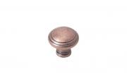 M331.K.BAC Ручка-кнопка, отделка медь античная
