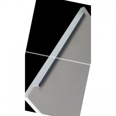 Профиль-ручка 300мм врезная алюминий матовый 35.300.AA