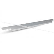 Профиль-ручка 600мм врезная алюминий матовый 35.600.AA