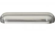 HN-M-4160-128-BSN Ручка-ракушка 128мм, отделка никель шлифованный