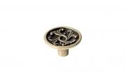 2056/23 Ручка-кнопка, отделка бронза античная