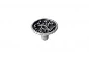 2056/19/O Ручка-кнопка, отделка олово античное