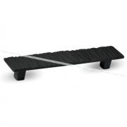 Ручка-скоба 160мм черный глянец 369B.160.51