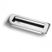 3701-400 Ручка врезная, глянцевый хром