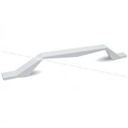 Ручка-скоба 160мм белый матовый 386.160.71
