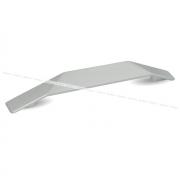 Ручка-скоба 160мм никель 387.160.11