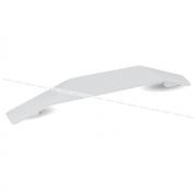 Ручка-скоба 160мм белый матовый 387.160.71