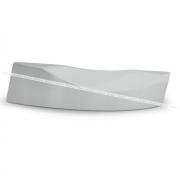 Ручка-раковина 160мм никель 390.160.11