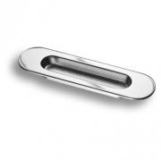 3921-400 Ручка врезная для дверей, глянцевый хром