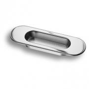 3922-400 Ручка врезная для дверей, глянцевый хром