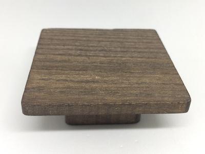Ручка-кнопка 16мм, отделка дуб шато 9390/047