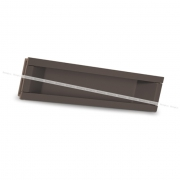 Ручка-раковина 160мм титан 405B.160.69