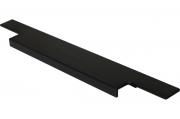 408020295-76.1 Ручка врезная 295мм, отделка черный шлифованный