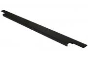 408020895-76.1 Ручка врезная 895мм, отделка черный шлифованный