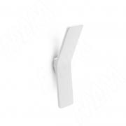 410.71 Ручка-кнопка белый матовый