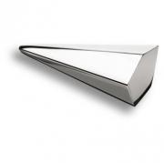 4170 0016 CR Ручка кнопка, глянцевый хром 16 мм
