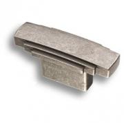 4215 0016 OSM Ручка кнопка, старое серебро 16 мм