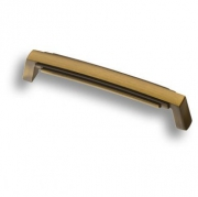 4215 0128 MAB Ручка скоба, старая бронза 128 мм