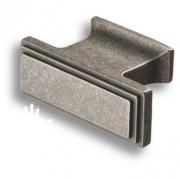 4237 0016 OSM Ручка кнопка, старое серебро 16 мм