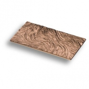 4310 0064 RS Ручка скоба, розовое золото 64 мм