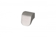S434320016-66 Ручка-кнопка 16мм, отделка сталь шлифованная