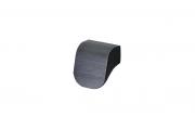 S434320016-76 Ручка-кнопка 16мм, отделка черный шлифованный