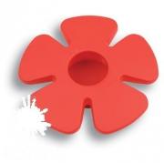 435025ST09 Ручка кнопка детская, цветок красный