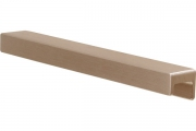 S437620160-31 Ручка накладная L.190мм, отделка золото шлифованное