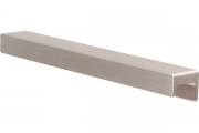 S437620160-66 Ручка накладная L.190мм, отделка сталь шлифованная