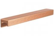 S437620160-87 Ручка накладная L.190мм, отделка медь шлифованная