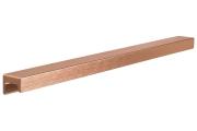 S437620320-87 Ручка накладная L.350мм, отделка медь шлифованная