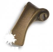 4380 0016 MVB Ручка кнопка, античная бронза 16 мм