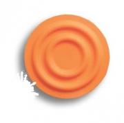 440025ST08 Ручка кнопка детская, круг оранжевый