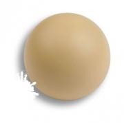 445BE2 Ручка кнопка, выполнена в форме шара, цвет бежевый матовый