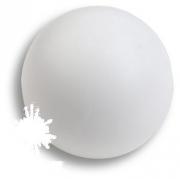 445BL1 Ручка кнопка, выполнена в форме шара, цвет белый матовый