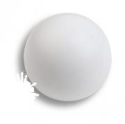 445BL2 Ручка кнопка, выполнена в форме шара, цвет белый матовый